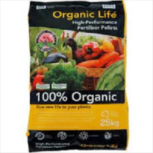 Gb Organic Life Garden Ao Cert 25kg