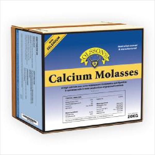Ols Calcium Molasses + Sel 20kg