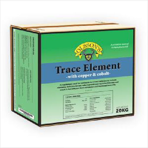 Ols Trace Element + Copper & Cobalt 20kg