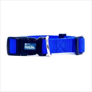 Pl Es Nylon Adj Collar Blue Medium