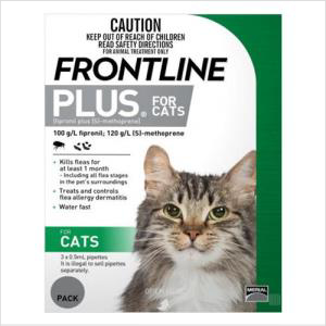 Frontline Plus Cat 3's