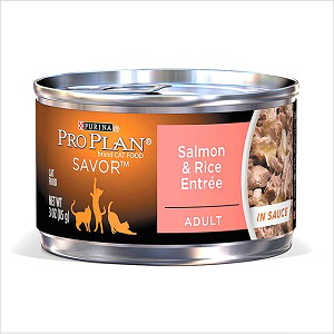Proplan Savor Adt Salmon & Rice 85g Can