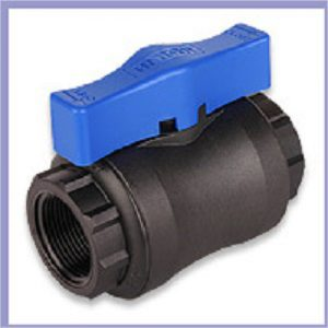Hansen Ball Valve Blue 25mm