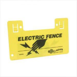 Gal Sign Electric Fence Each