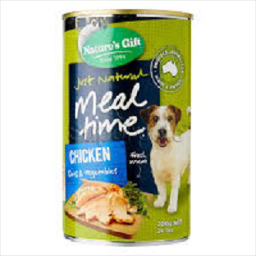 Natures Gift Chick/ Oats / Vege 12x700g