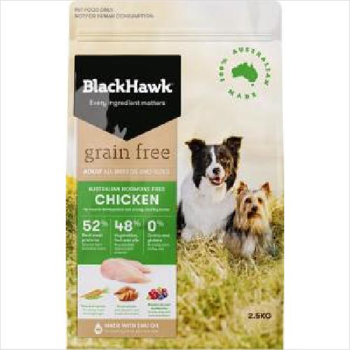Bh Dog Grainfree Chicken 2.5kg