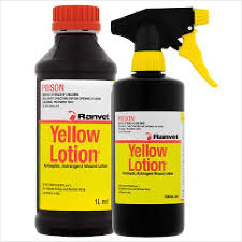 Ranvet Yellow Lotion 1 Litre