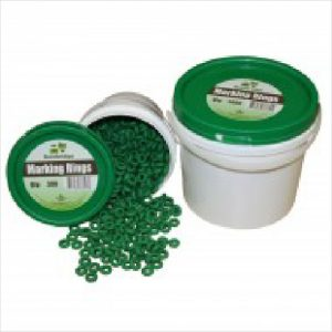 Bb Marking Rings Green 100pk