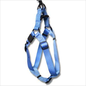 Bb Nylon Step In Harness With Logo Med