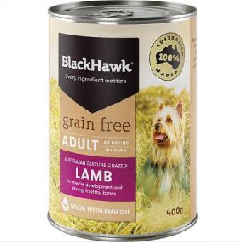 Bh Dog Grainfree Lamb Wet 400g
