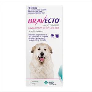 Bravecto Very Lge Dog 40-56kg Purple