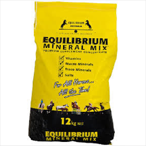 Equilibrium Mineral Mix 12kgs Yellow