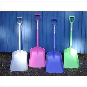 Evo Durable Plastic Shovel Pink