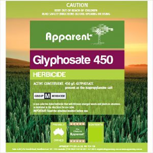 Apparent Glyphosate 450 20l