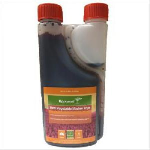 Apparent Red Vegetable Mark Dye 1l