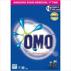 Omo Top/front Loader (2x5kg)
