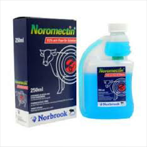 Norbrook Noromectin Pour On Cattle 500ml