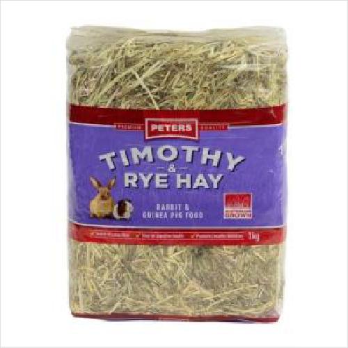 Peters Timothy & Rye Hay 1kg
