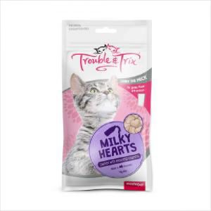 T&t Cat Treat Milky Heart 70g