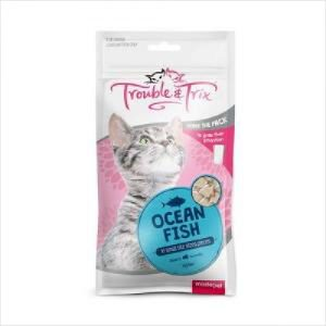 T&t Cat Treat Ocean Fish 70g