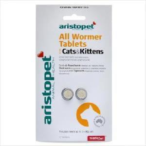 Ari Allwormer Cat/kit 2pk