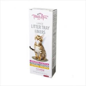 T&t Litter Liners Large 15pk