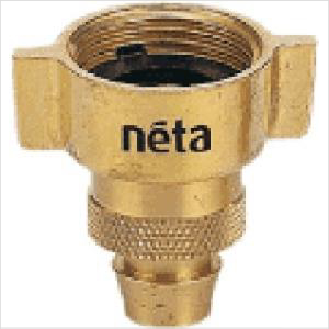 "Neta Brass Adaptor Tap Barb 3/4""x12mm"