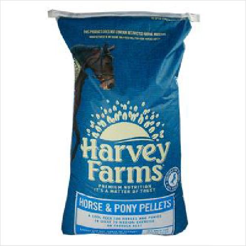 Harvey Farms Horse & Pony Pellets 20kg