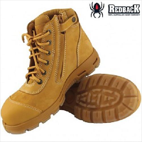 Redback Cobar Safety Zip Size 10.50
