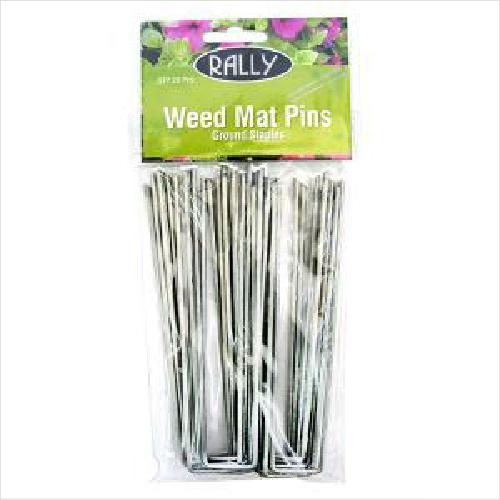 Rally Weed Mat Pins 20pk