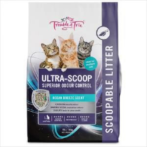 T&t Cat Litter Ultra Scoop 10 Litre