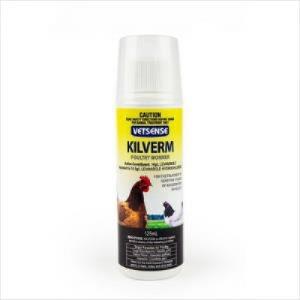 Vetsense Kilverm Poultry Wormer 125ml