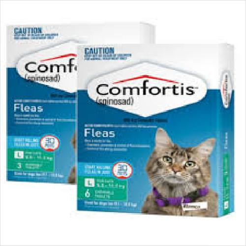 Comfortis Cat Green 5.5- 11.2kg 3pk