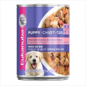 Euk Puppy Cuts Ckn & Beef 349gr Cans