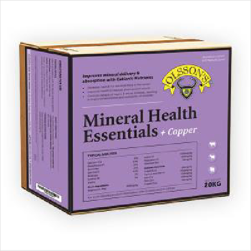 Ols Mineralhealth Essentials+copper 20kg