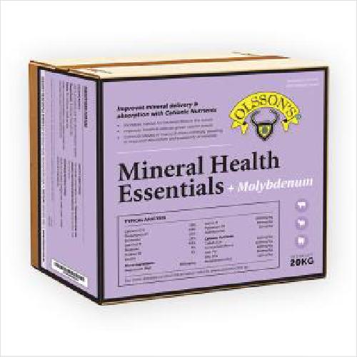 Ols Mineral Health Essentials+moly 20kg