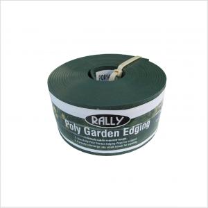 Rally P/garden Edging 100mm X 10m Green