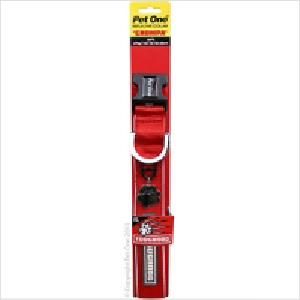 Po Toughdog Collar Red 23x29cm