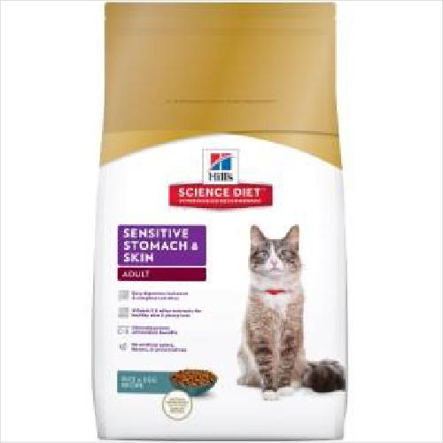 Hs Cat Adult Sens Stom & Skin 3.17kg