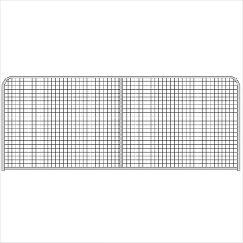 Afg Gate Safety 50x50x4.00mm Mesh 10""