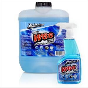 Lightning W/66 Spray & Wipe Cleaner 4lt