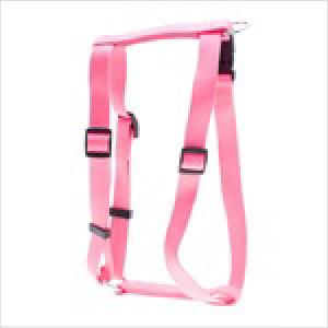 Pl Ess Nylon Adj Pink Harness Xl 70cm-90