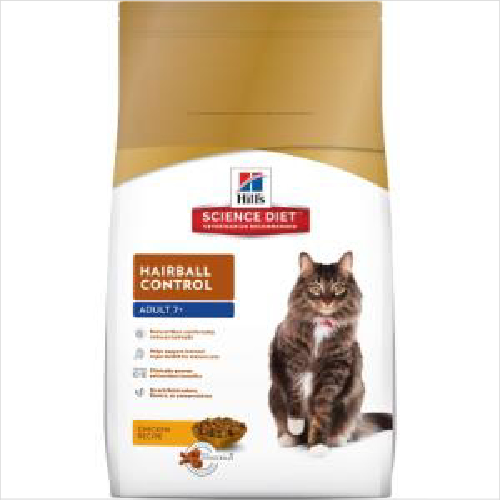 Hs Cat Adult 7+ Hairball Control 4kg