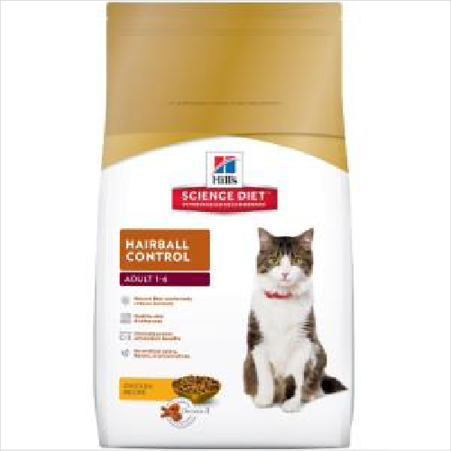 Hs Cat Adult 1-6 Hairball Control 4kg