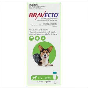 Bravecto Spot On Dog Medium 10-20kg