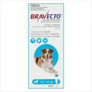 Bravecto Spot On Dog Large 20-40kg