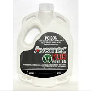Merial Avomec Plus Pour On 1ltr