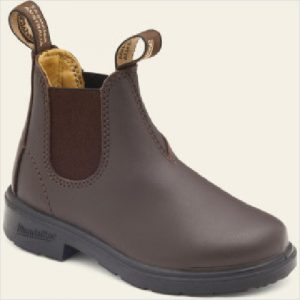 Blun 630 Kids Leather Boot Brown Size 1