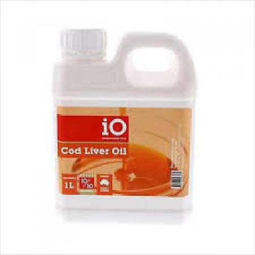 Io Cod Liver Oil 1 Litre