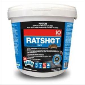 Io Ratshot Paste 1kg Blue Difenacoum